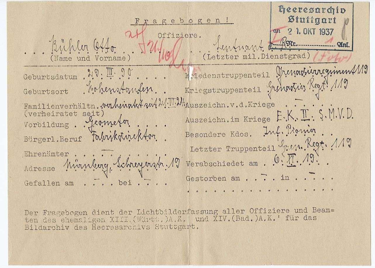 Bühler, Otto, Bild 2