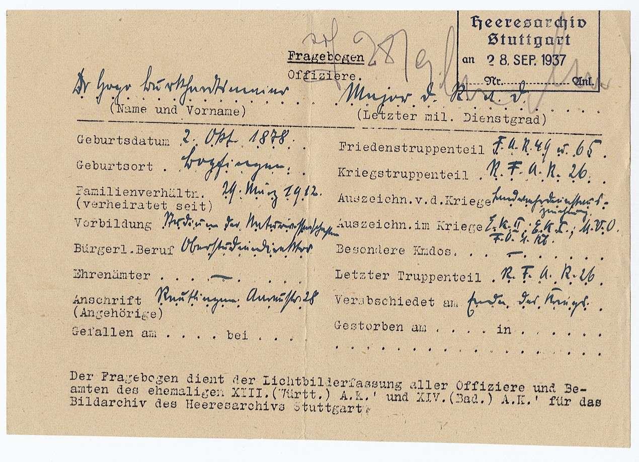 Burkhardtsmaier, Hugo, Dr., Bild 1