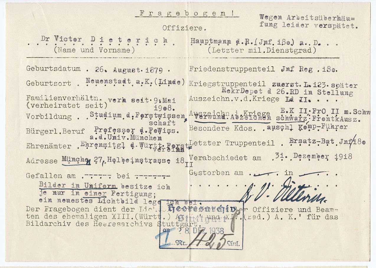 Dieterich, Viktor, Prof. Dr., Bild 2