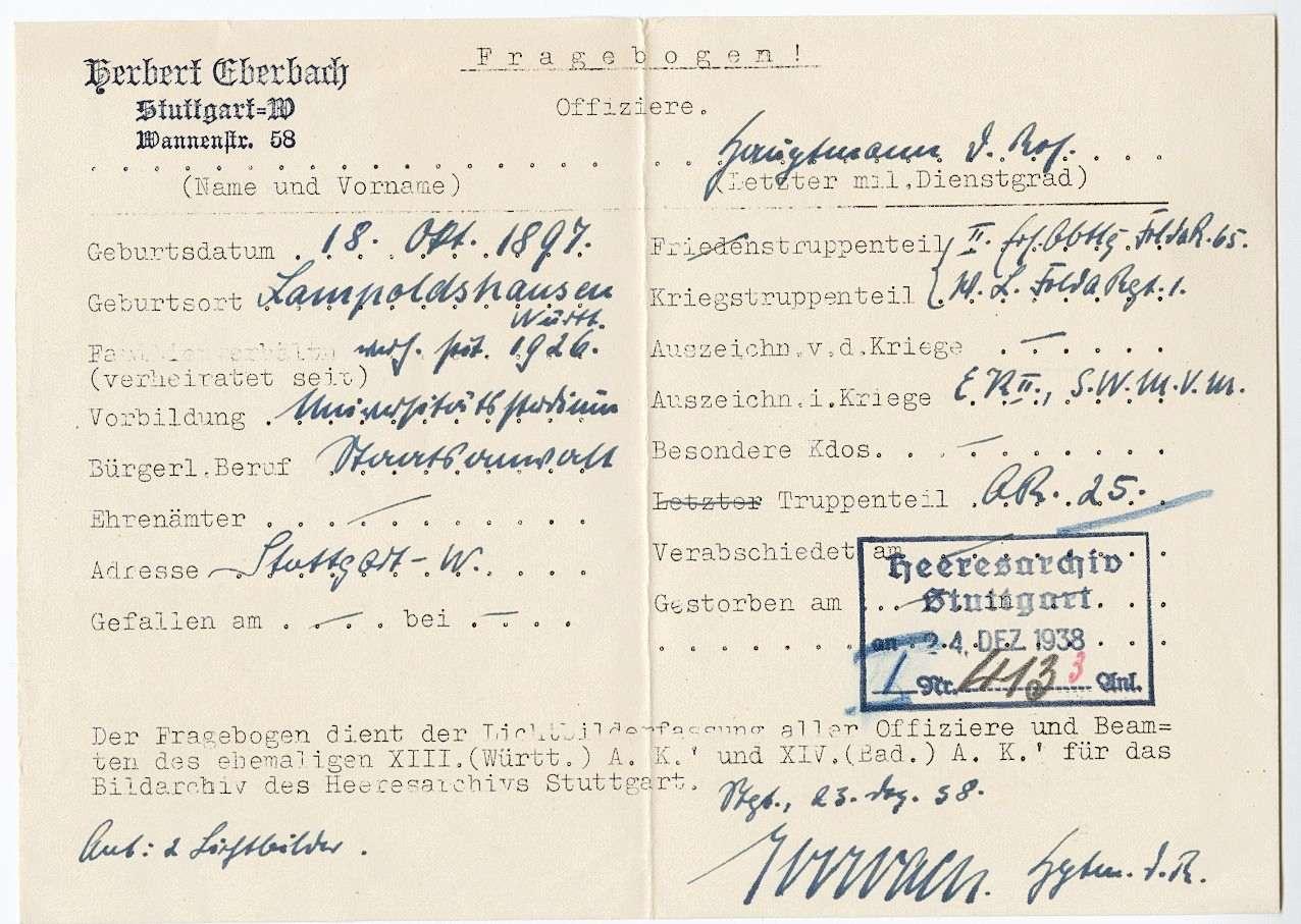 Eberbach, Herbert, Bild 3
