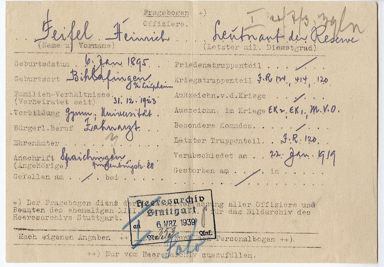 Feifel, Heinrich, Bild 2