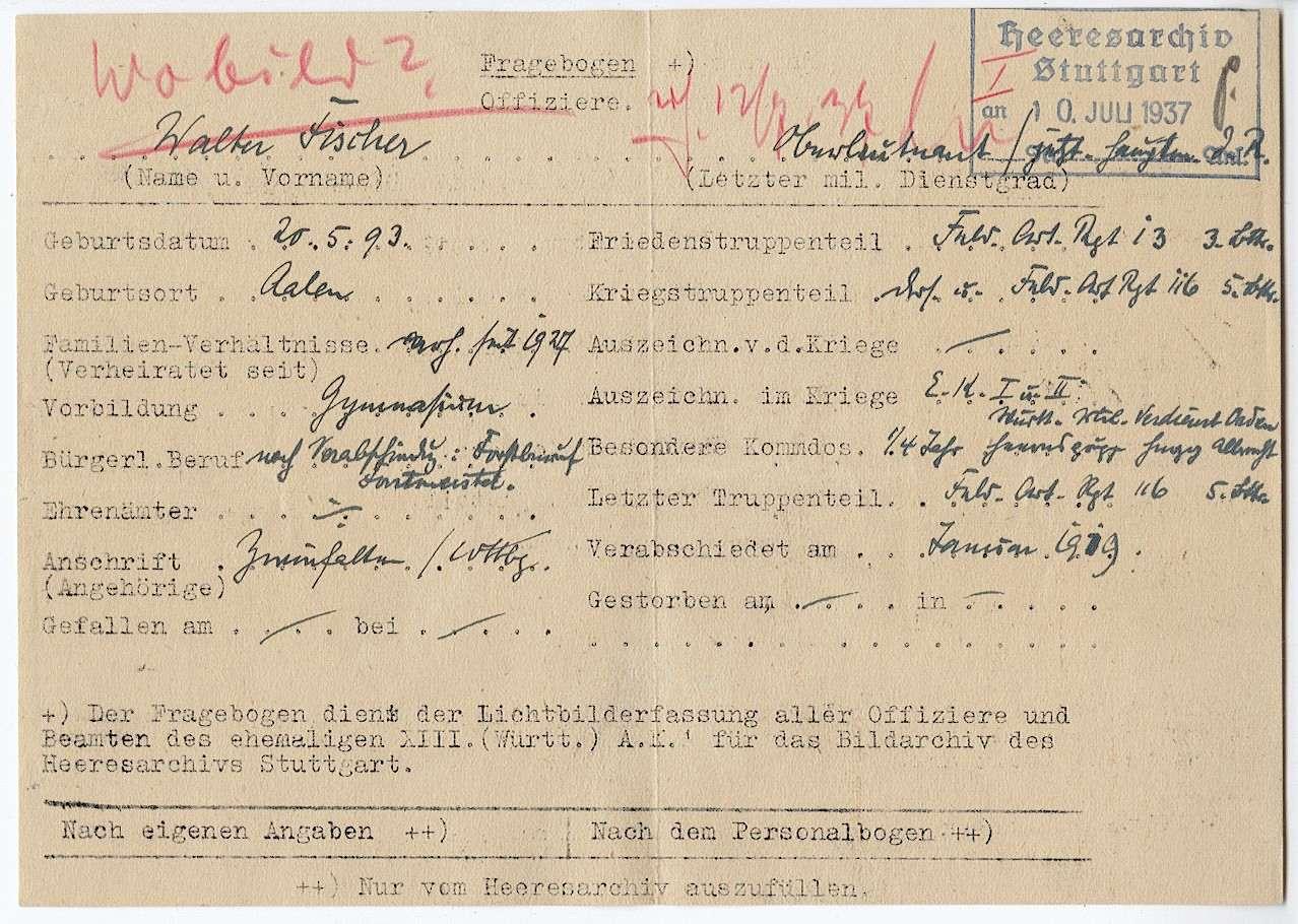 Fischer, Walter, Bild 2