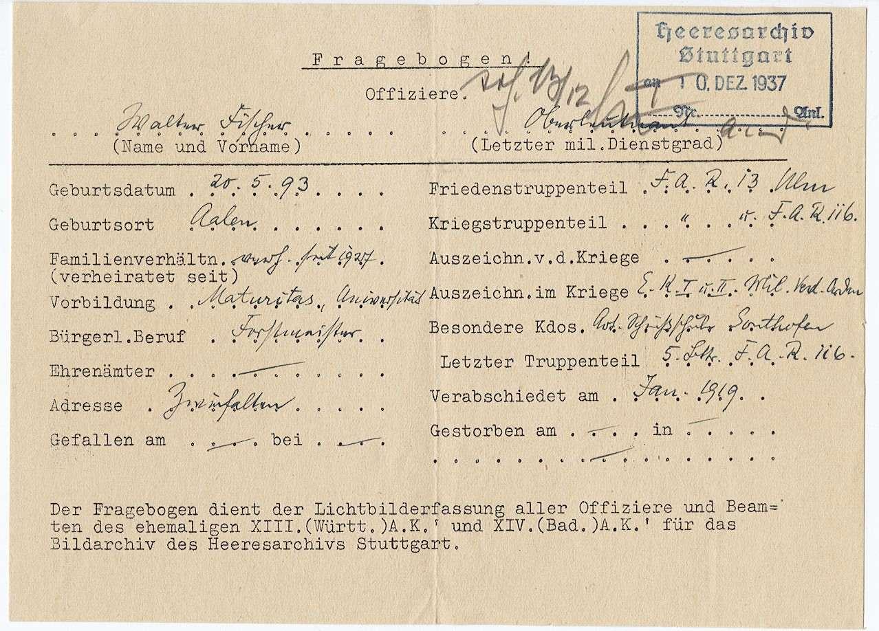 Fischer, Walter, Bild 3
