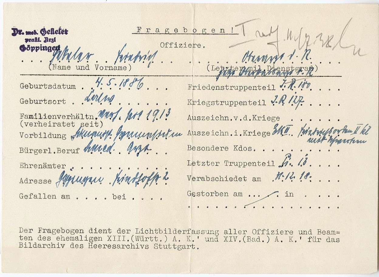 Gekeler, Friedrich, Bild 2
