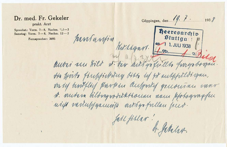 Gekeler, Friedrich, Bild 3