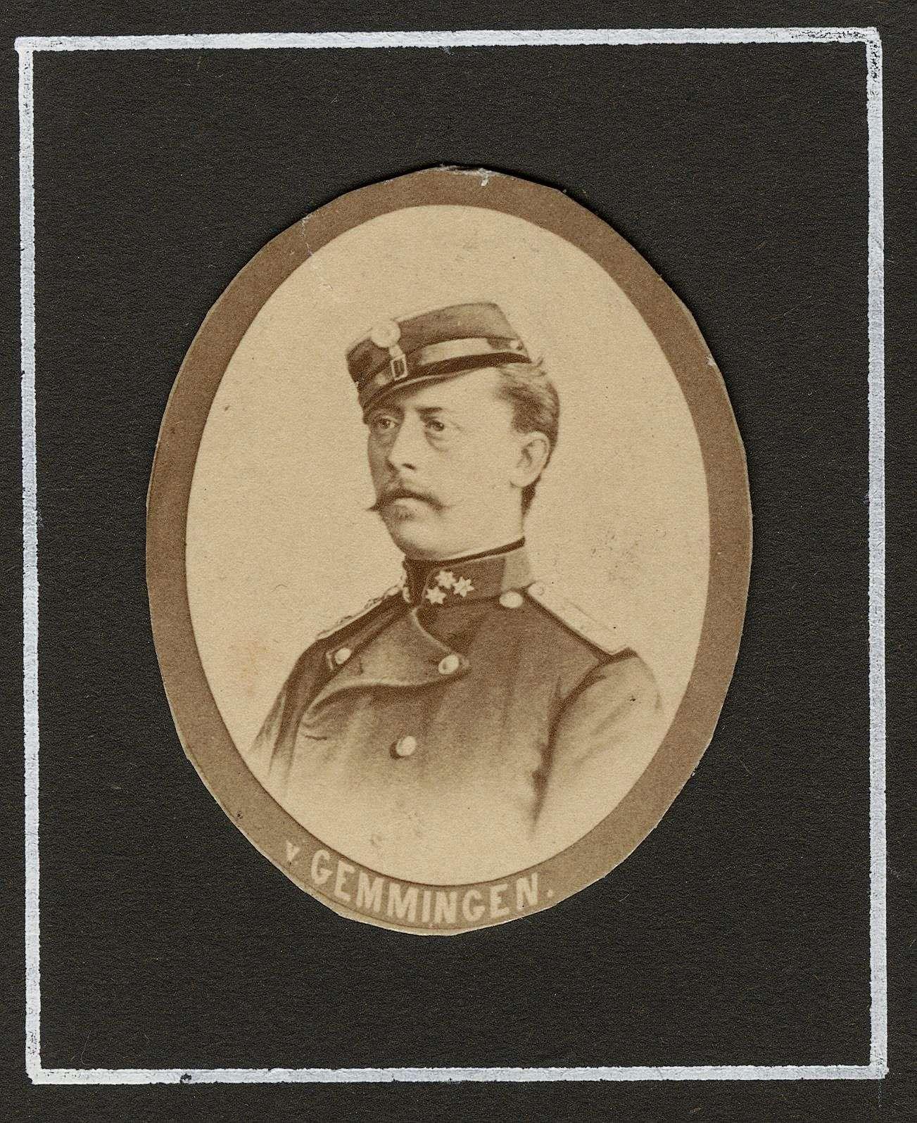 Gemmingen-Fürfeld, Wilhelm von, Bild 1