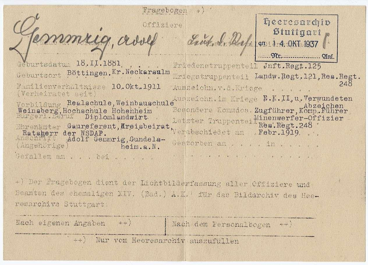 Gemmrig, Adolf, Bild 3