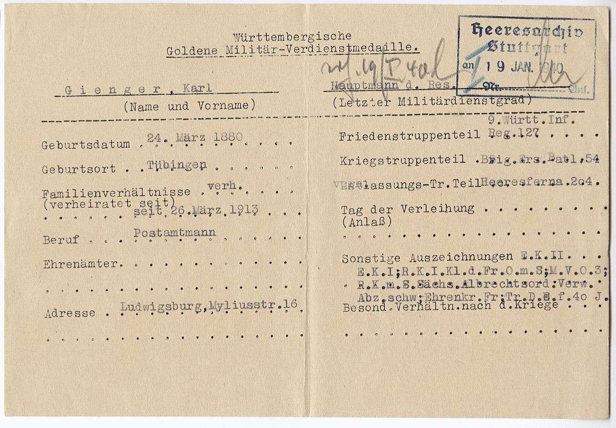 Gienger, Karl, Bild 2