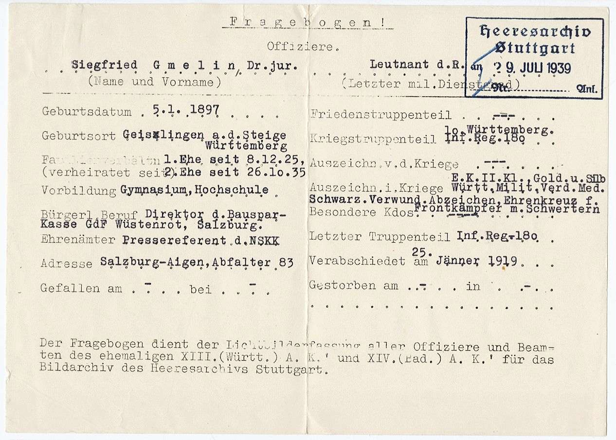 Gmelin, Siegfried, Dr.jur., Bild 2