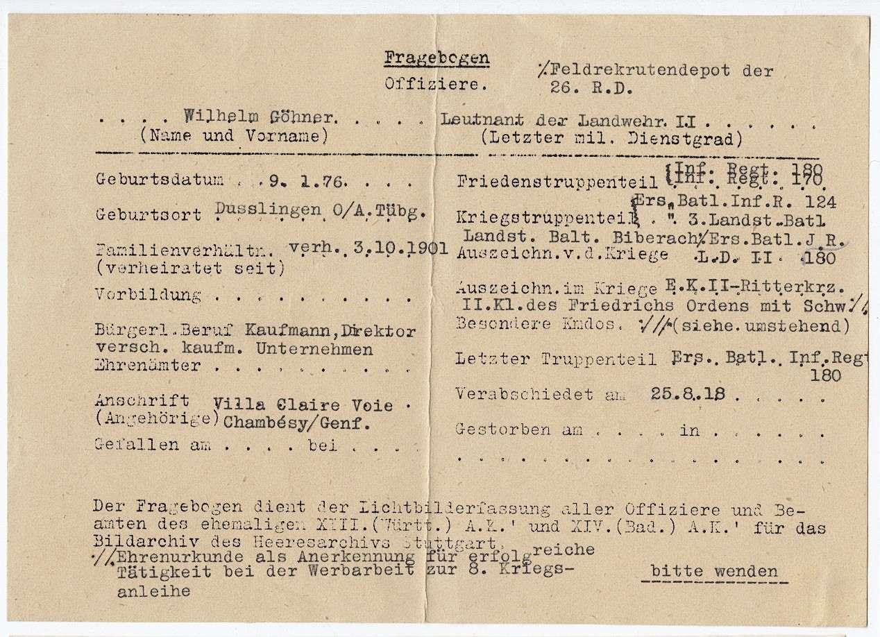 Göhner, Wilhelm, Bild 3
