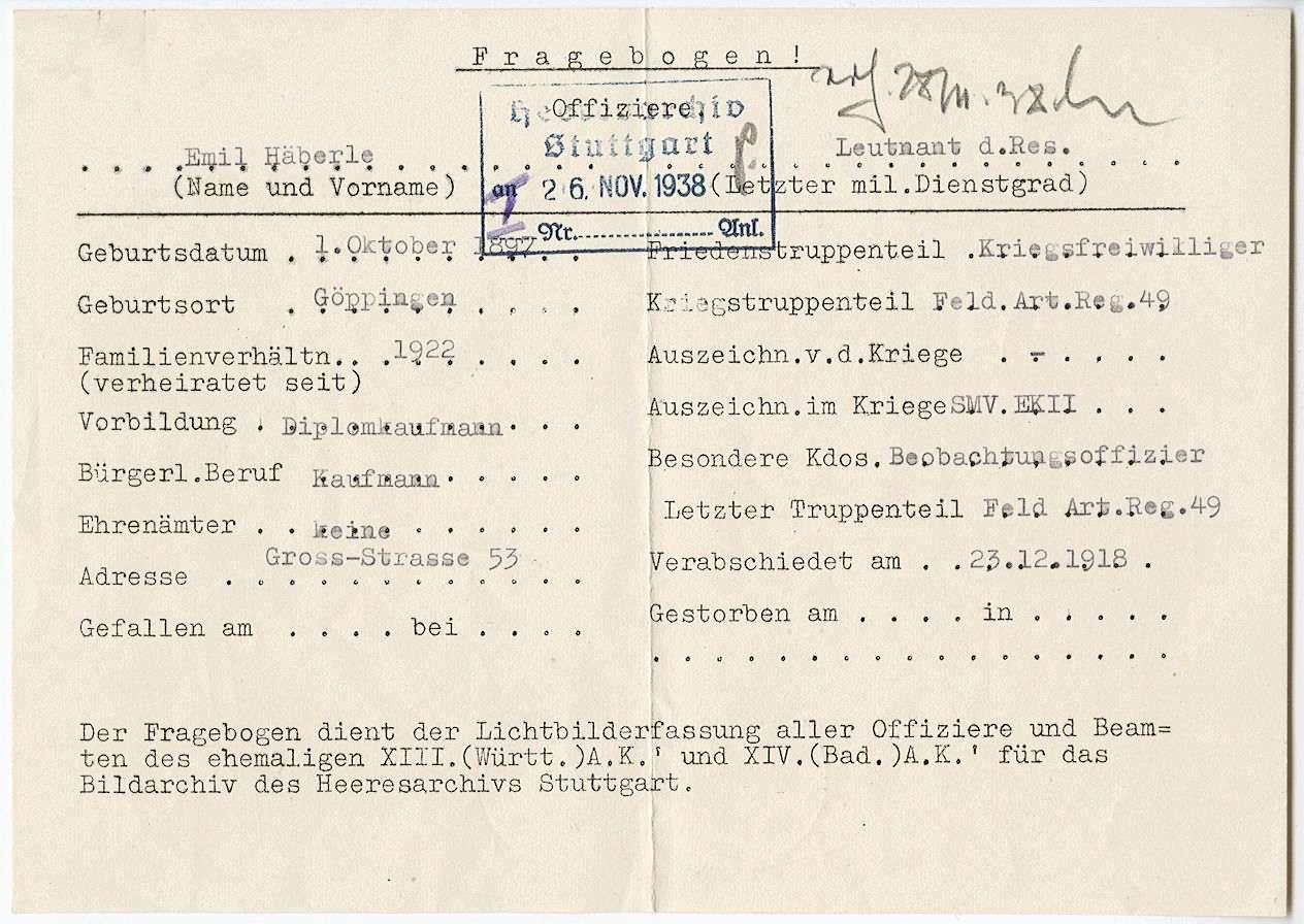 Häberle, Emil, Bild 2