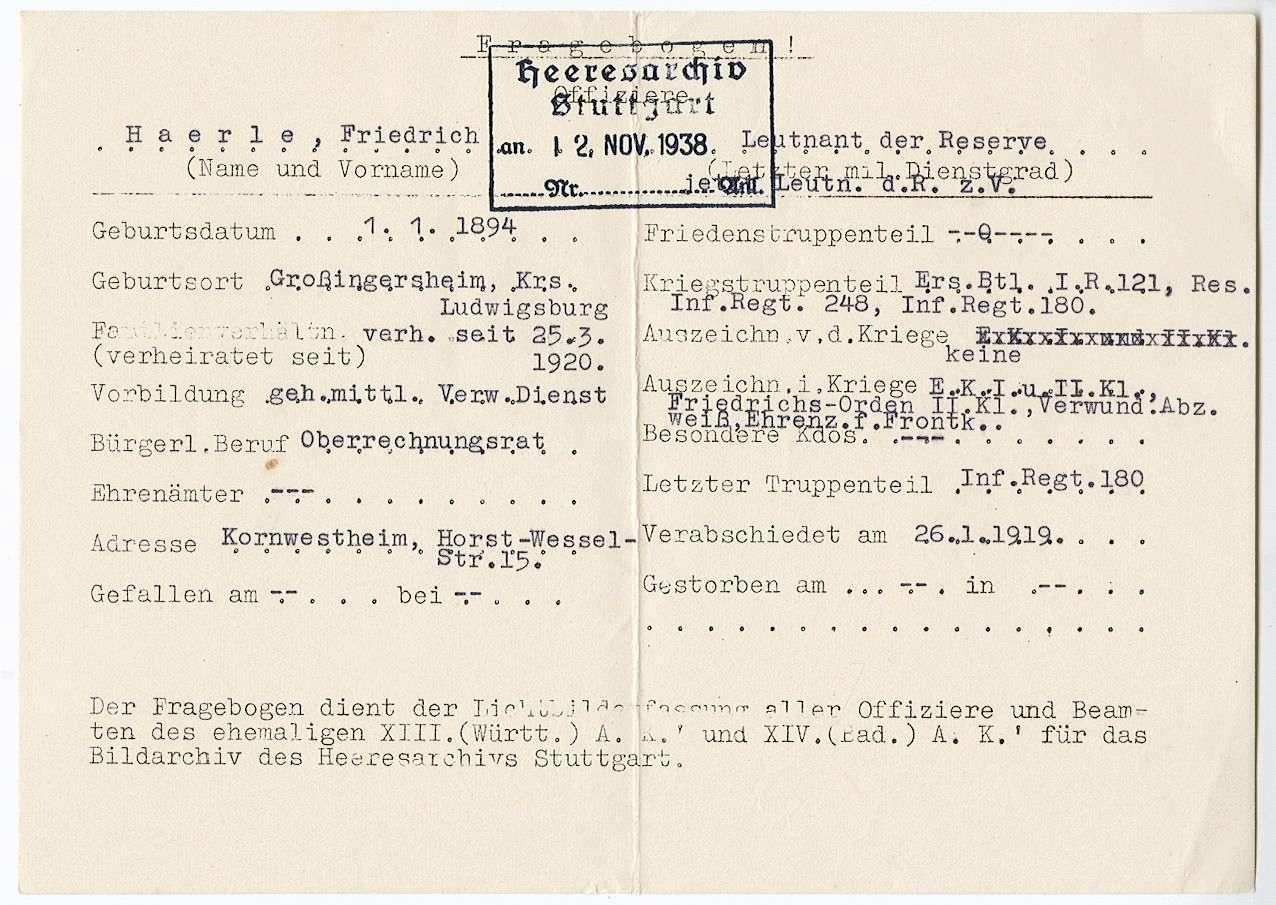 Haerle, Friedrich, Bild 3