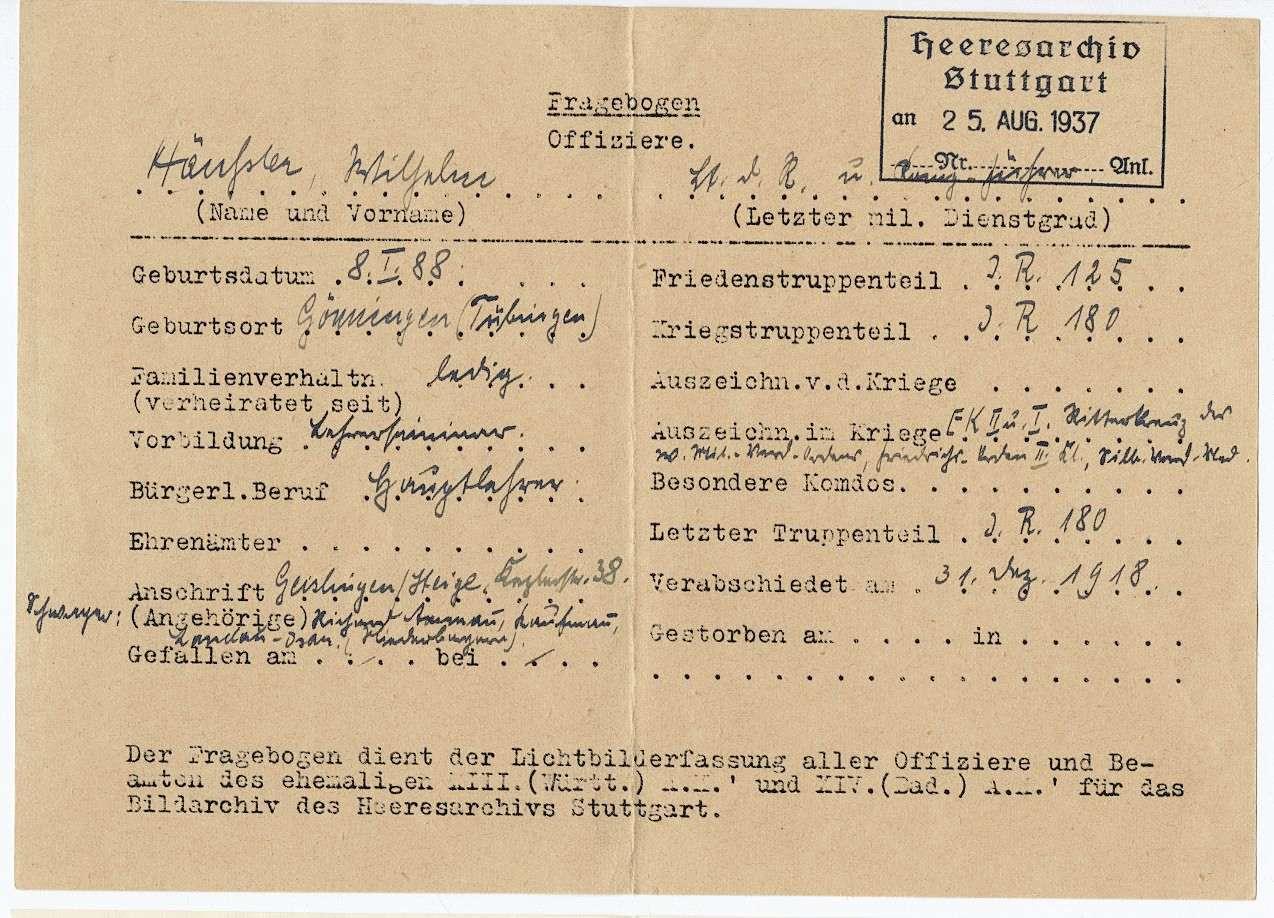 Häußler, Wilhelm, Bild 3