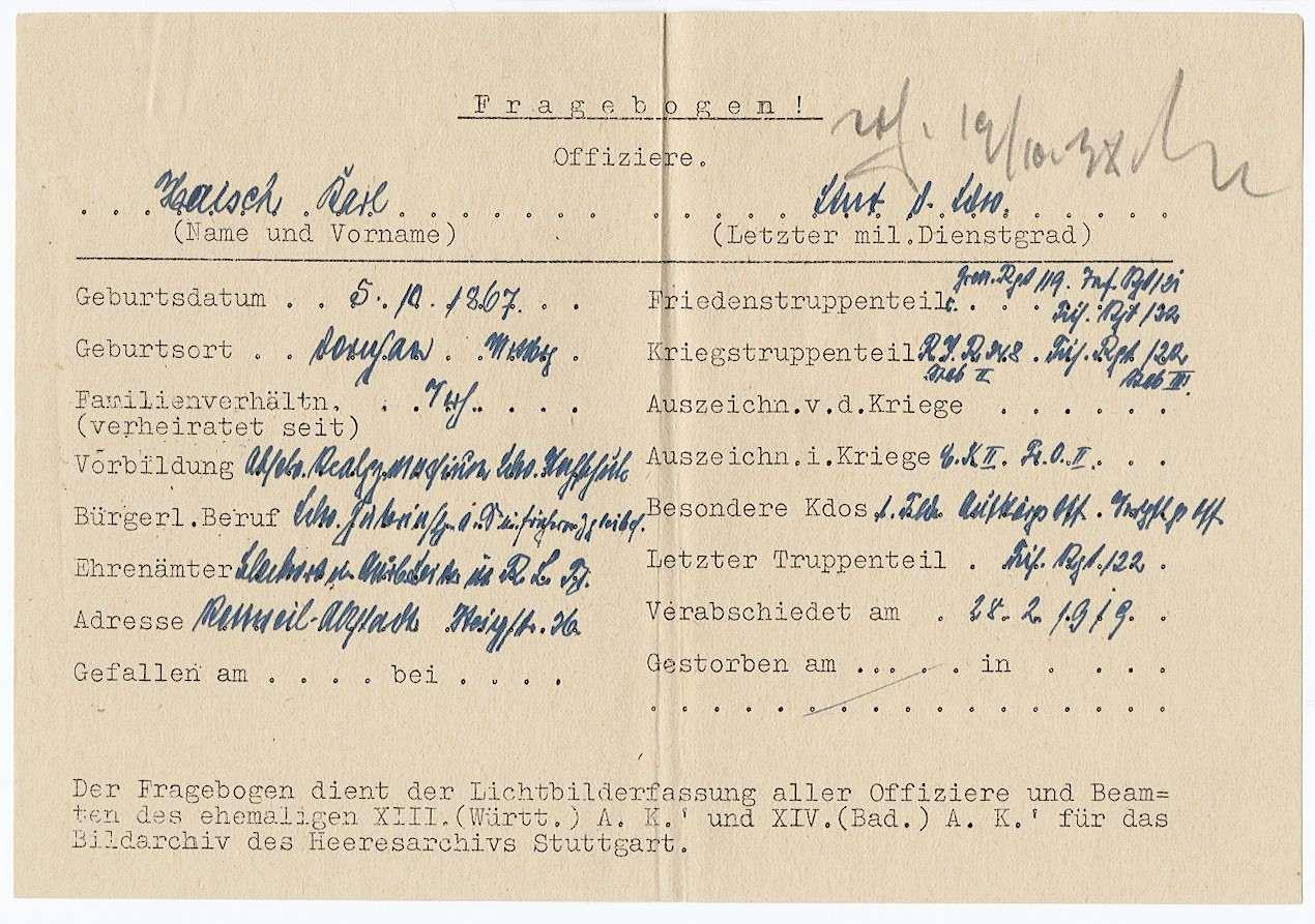 Haisch, Karl, Bild 2
