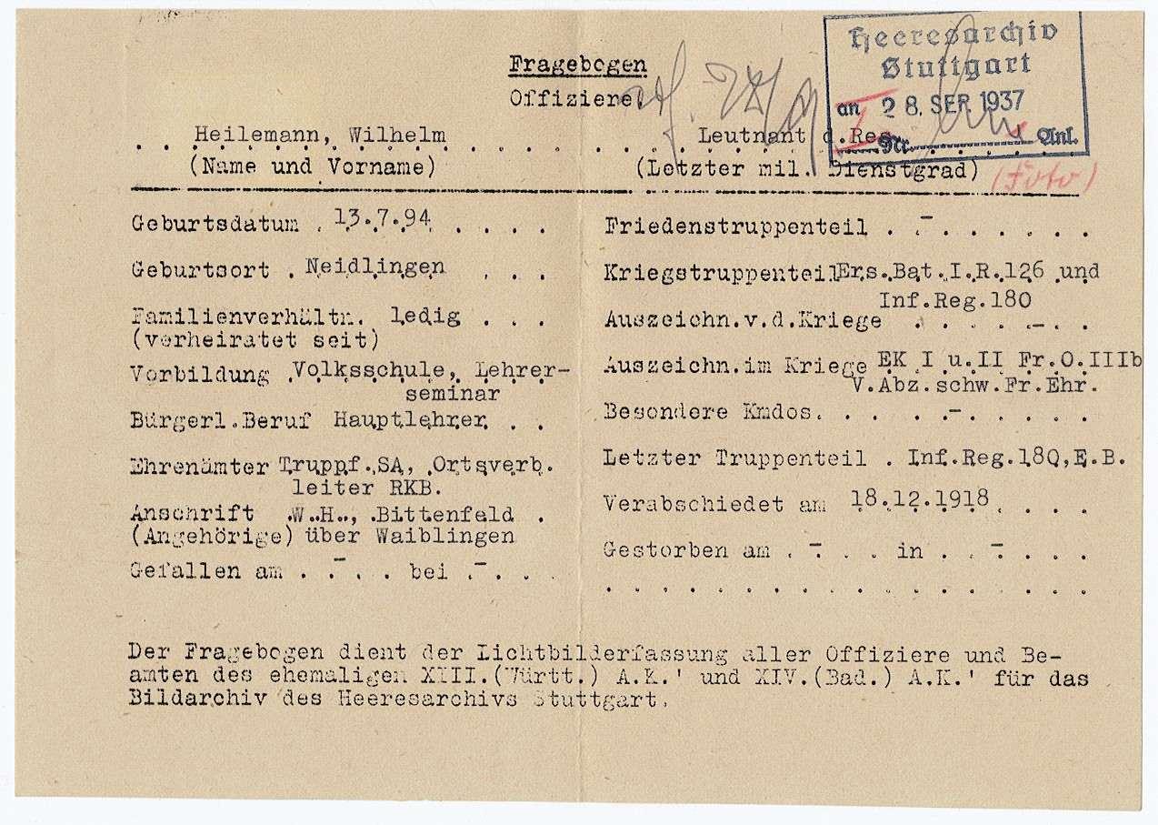 Heilemann, Wilhelm, Bild 2