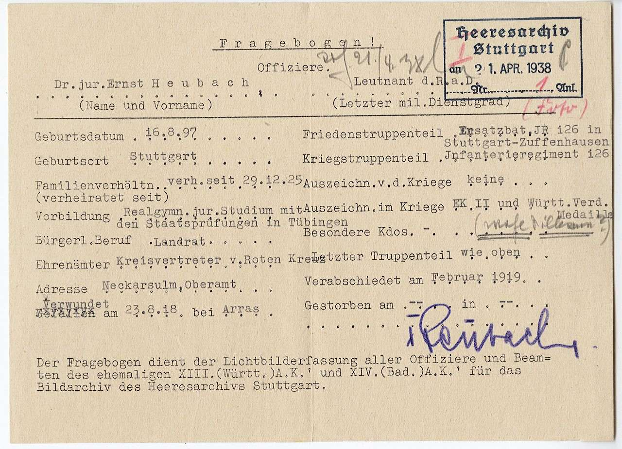 Heubach, Ernst, Dr.jur., Bild 2