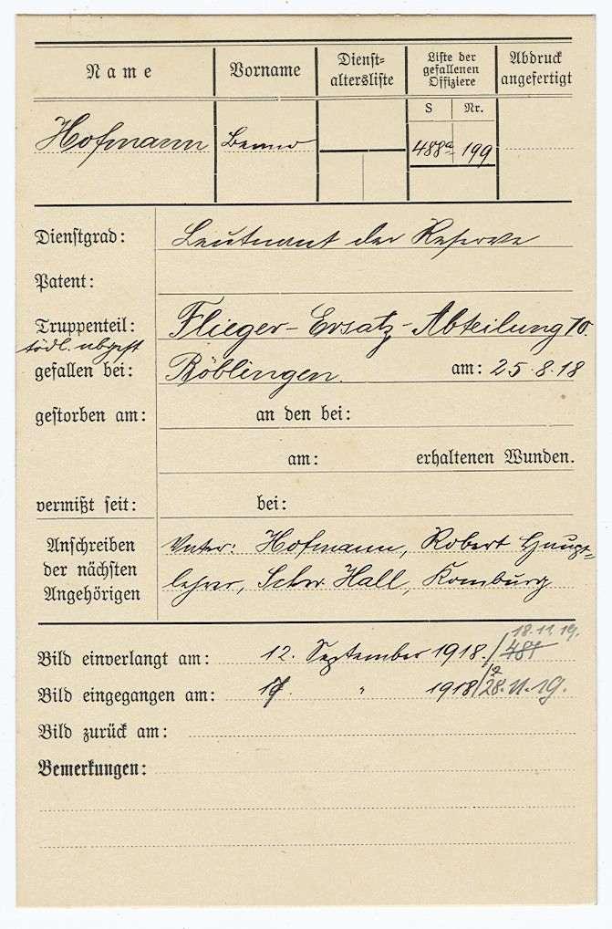 Hofmann, Benno, Bild 1