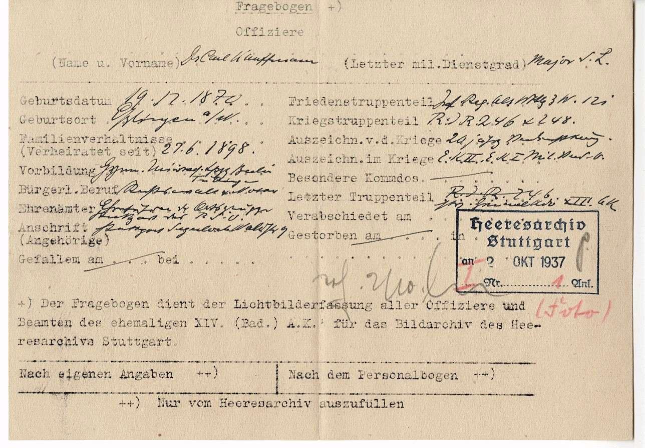 Kauffmann, Karl, Dr., Bild 2