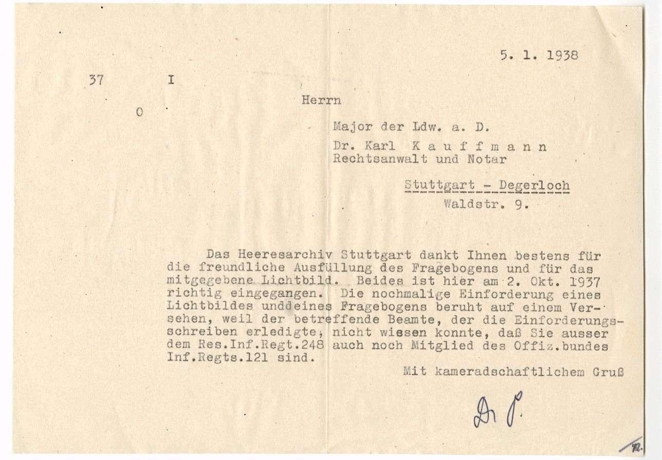 Kauffmann, Karl, Dr., Bild 3
