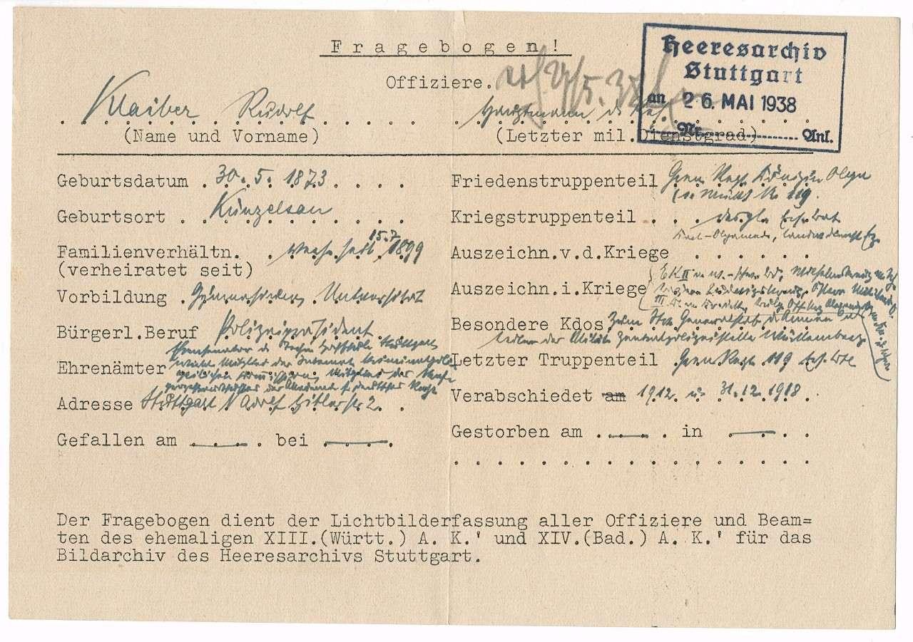 Klaiber, Rudolf, Bild 2