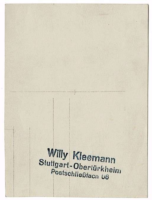 Kleemann, Willy, Bild 3