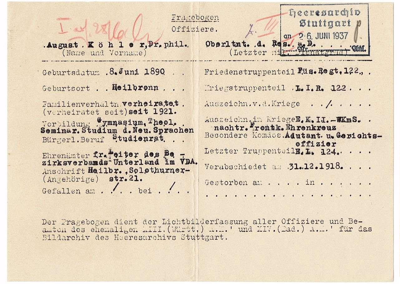 Köhler, August, Dr.phil., Bild 2