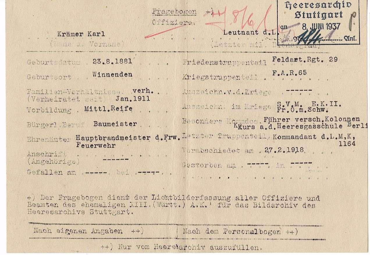 Krämer, Karl, Bild 2