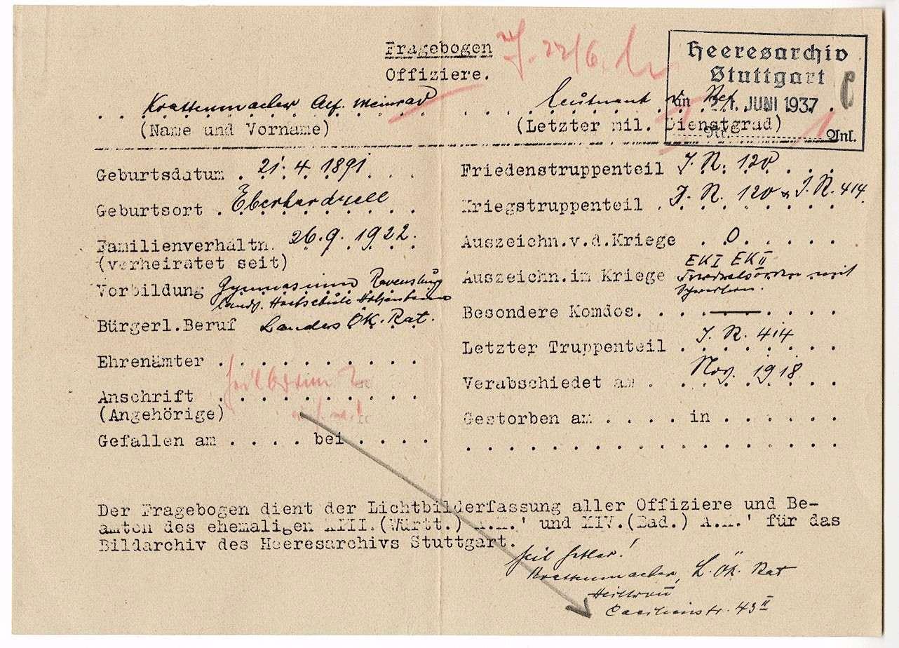 Krattenmacher, Alfons Mainrad, Bild 2