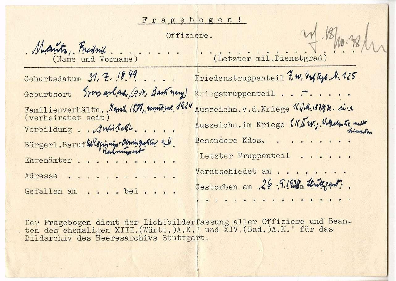 Mautz, Friedrich, Bild 2