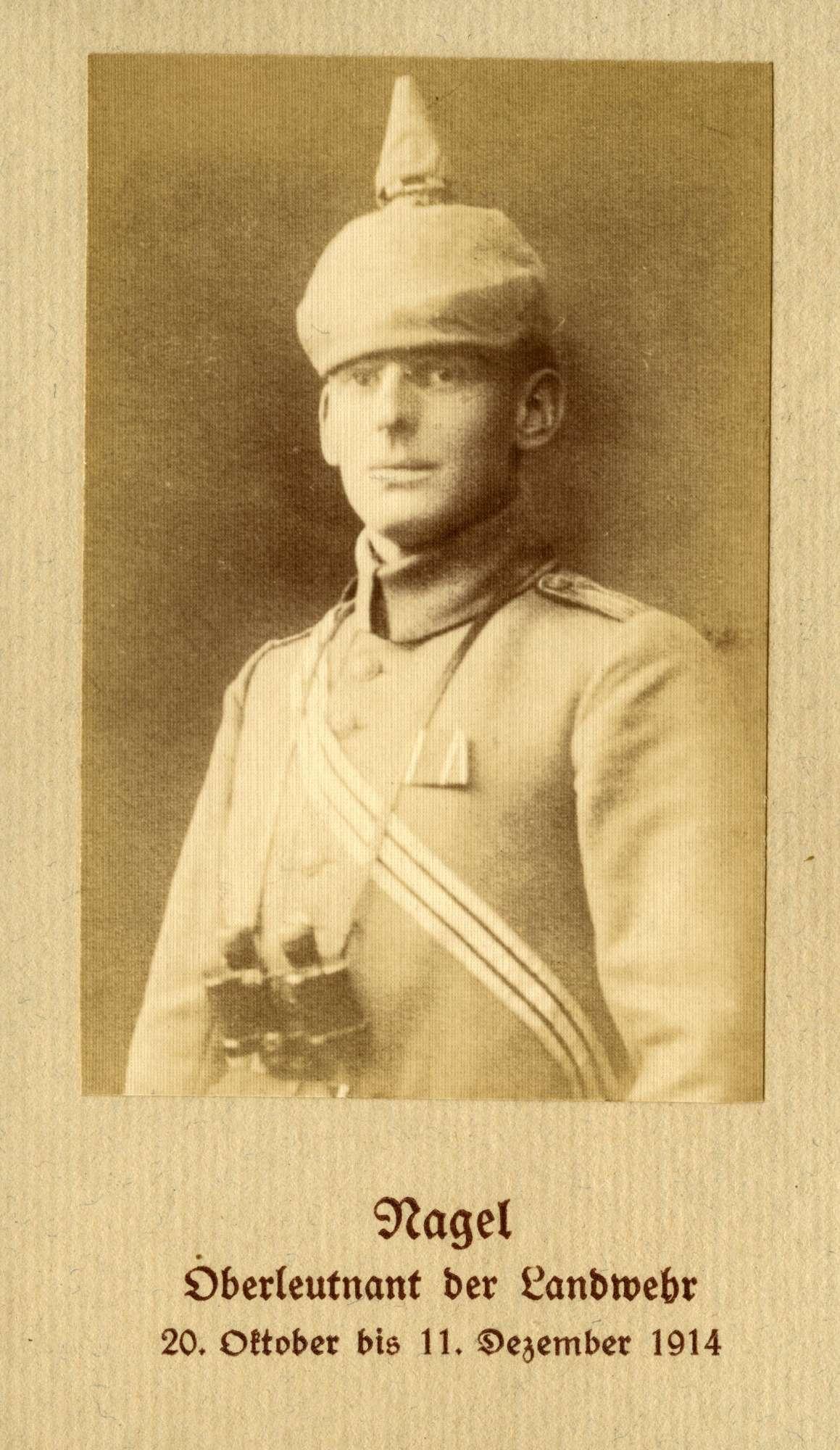 Nagel, Ernst, Bild 1