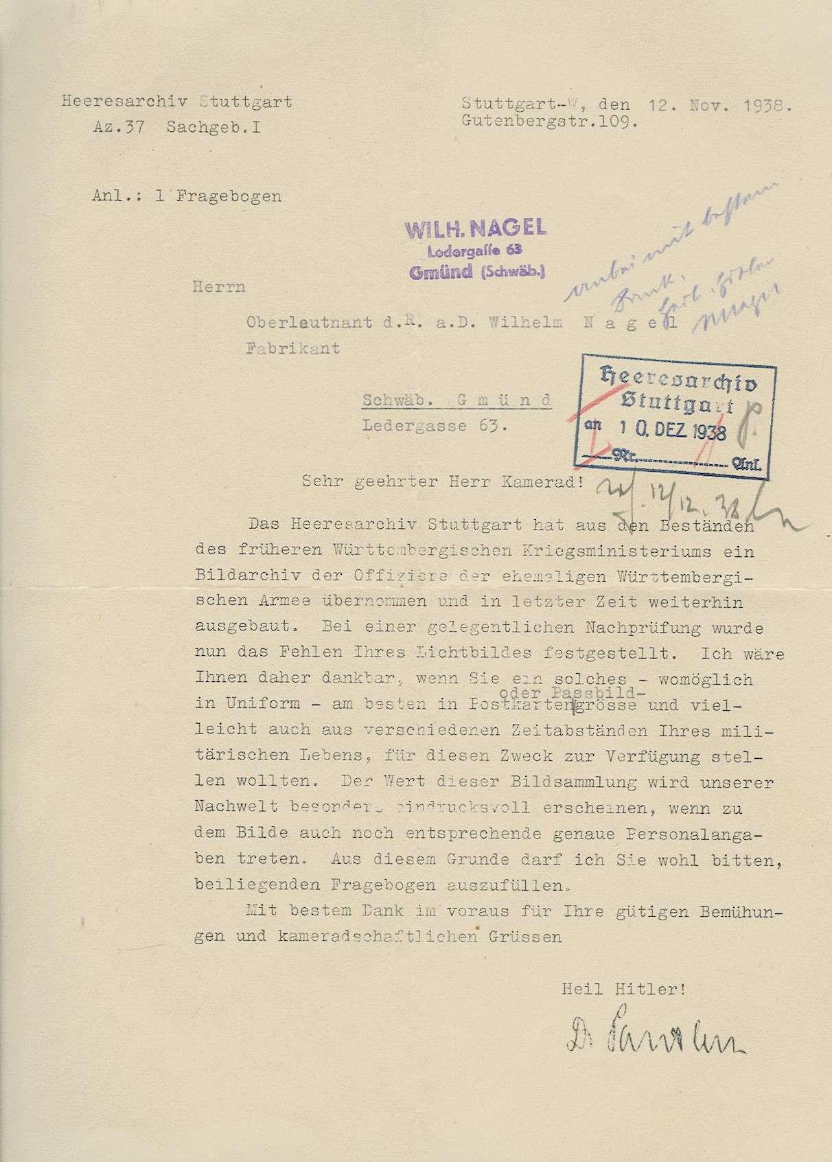 Nagel, Wilhelm, Bild 3