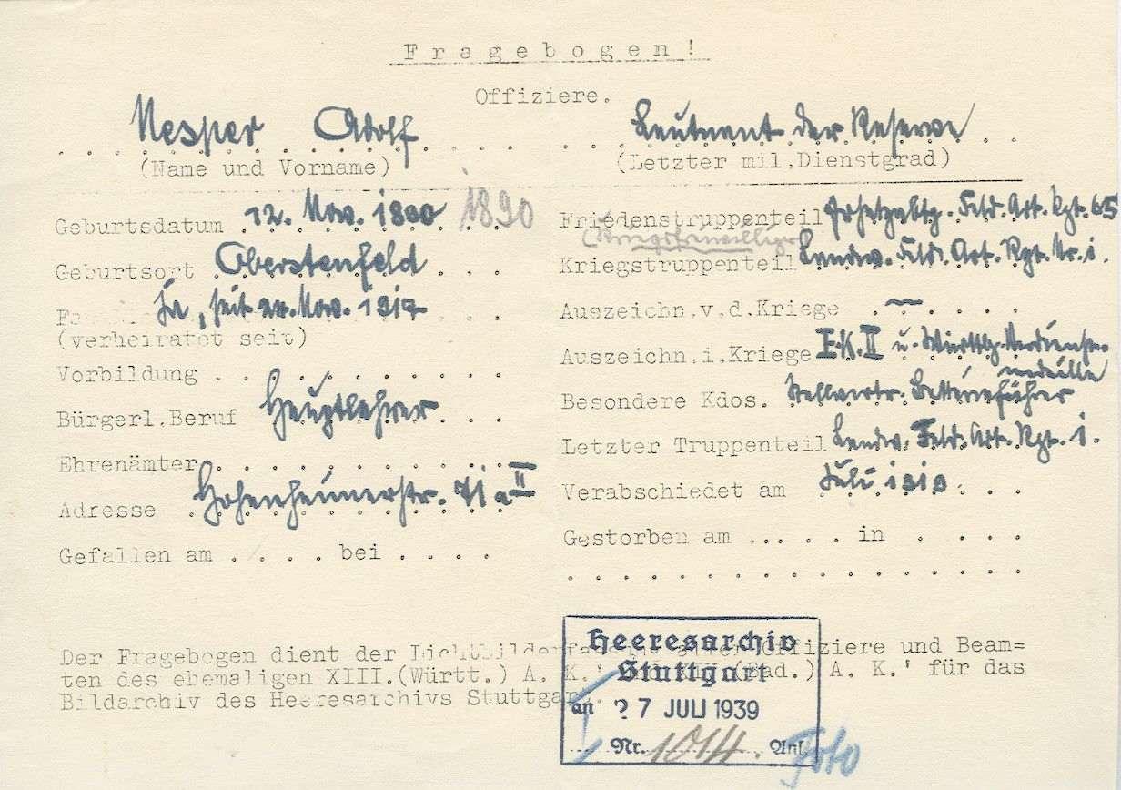 Nesper, Adolf, Bild 2