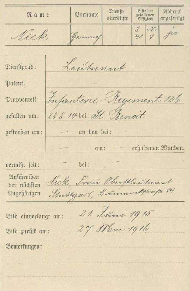 Nick, Heinrich, Bild 2