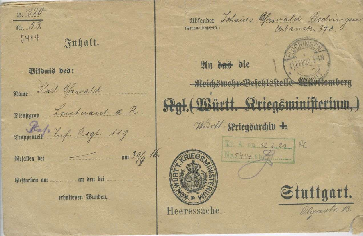 Osswald, Wilhelm, Bild 2