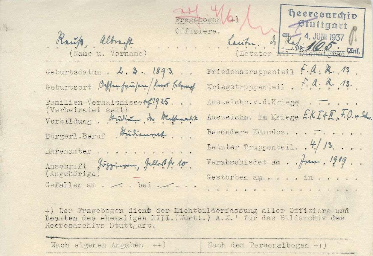 Reuß, Albrecht, Bild 3