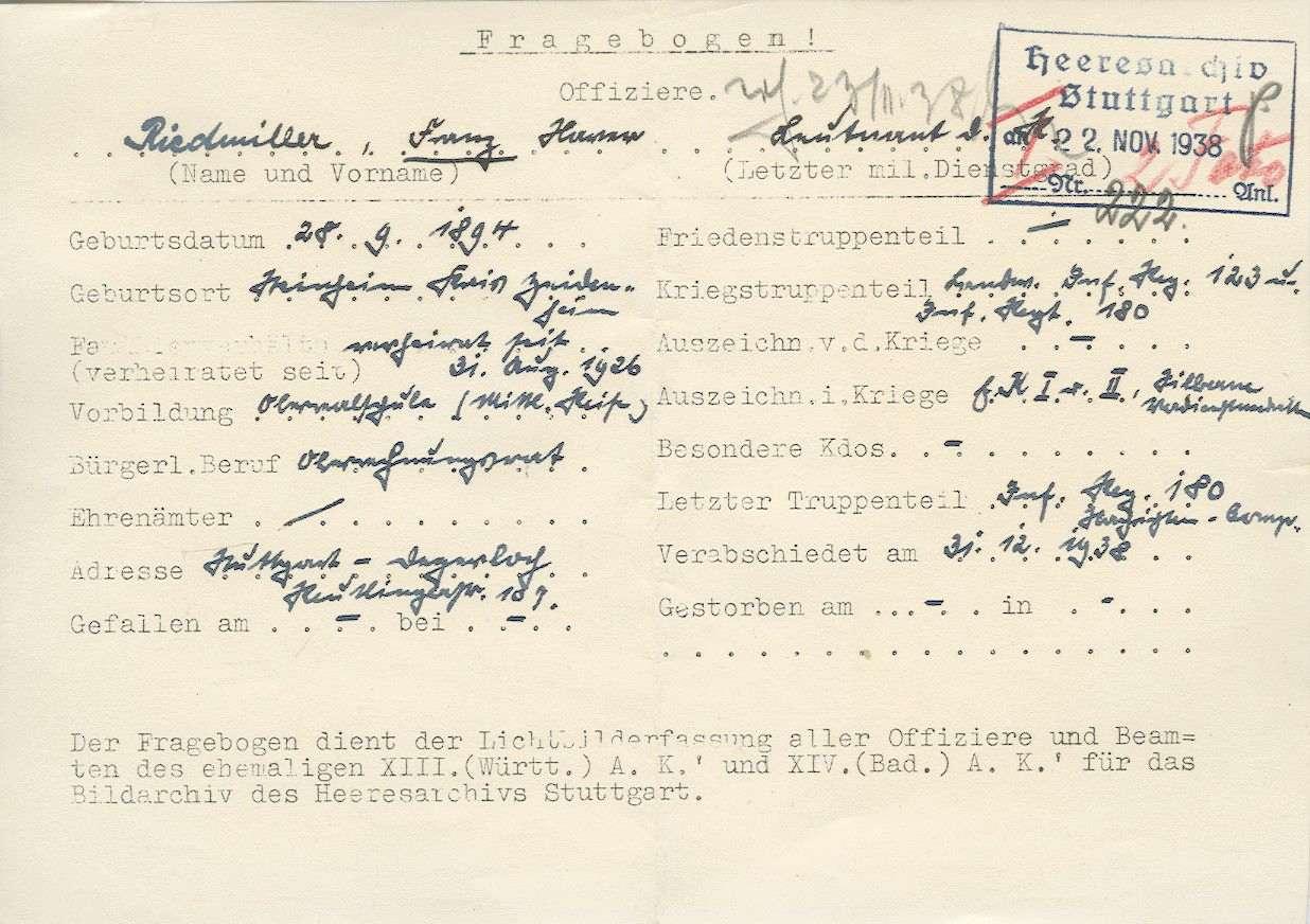 Riedmiller, Franz, Bild 3