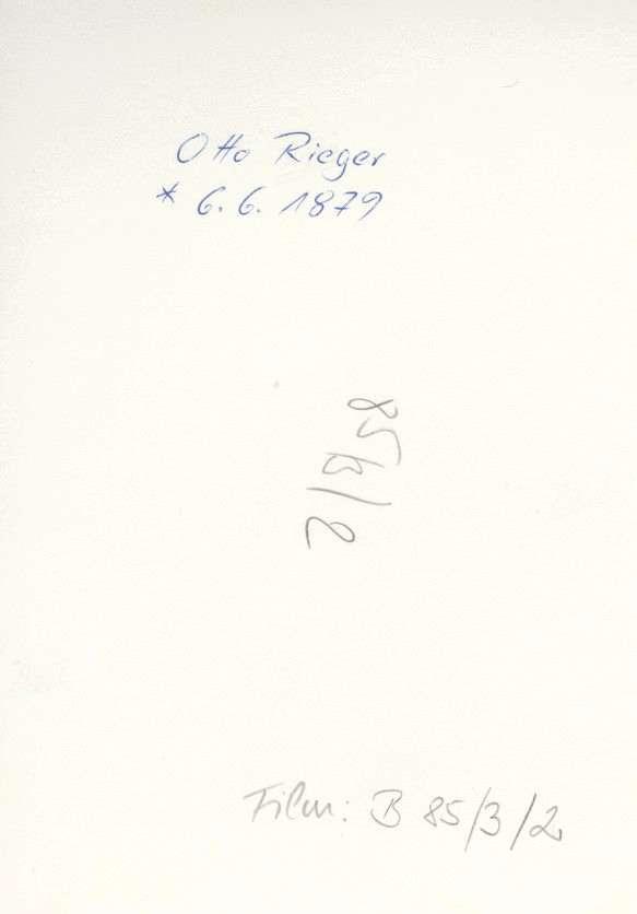 Rieger, Otto, Bild 2