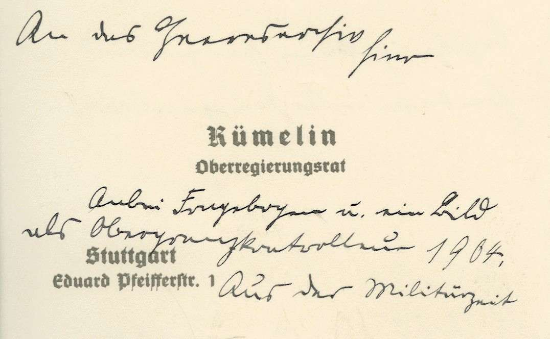 Rümelin, Otto, Bild 3