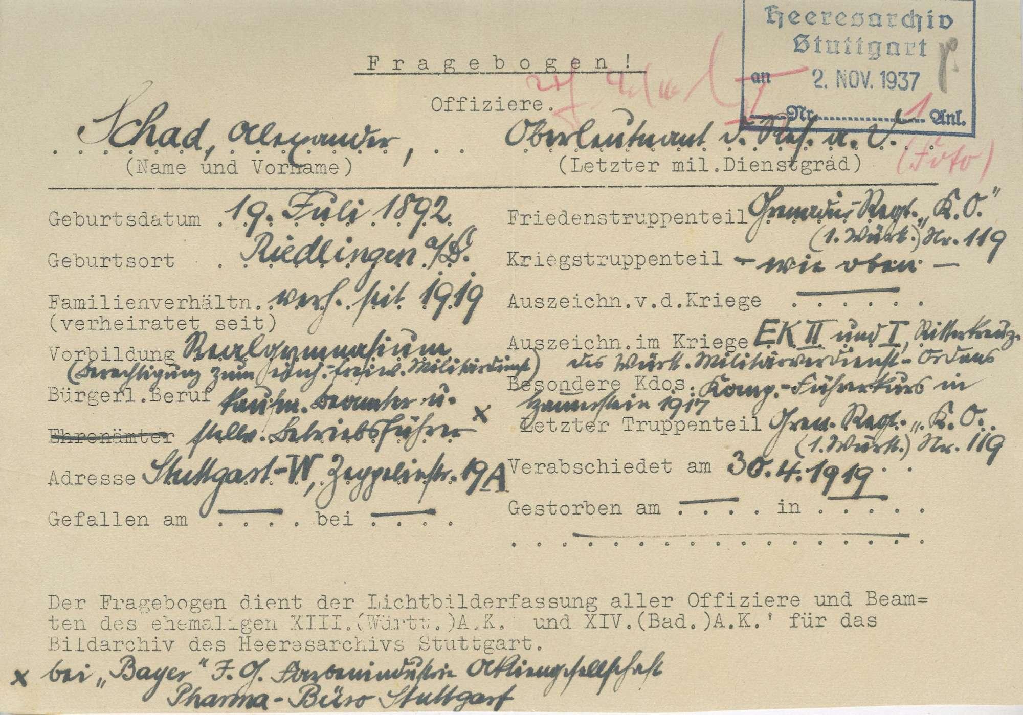 Schad, Alexander, Bild 2