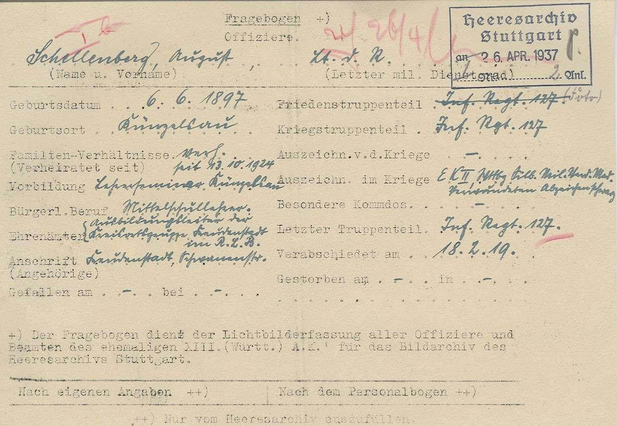 Schellenberg, August, Bild 3