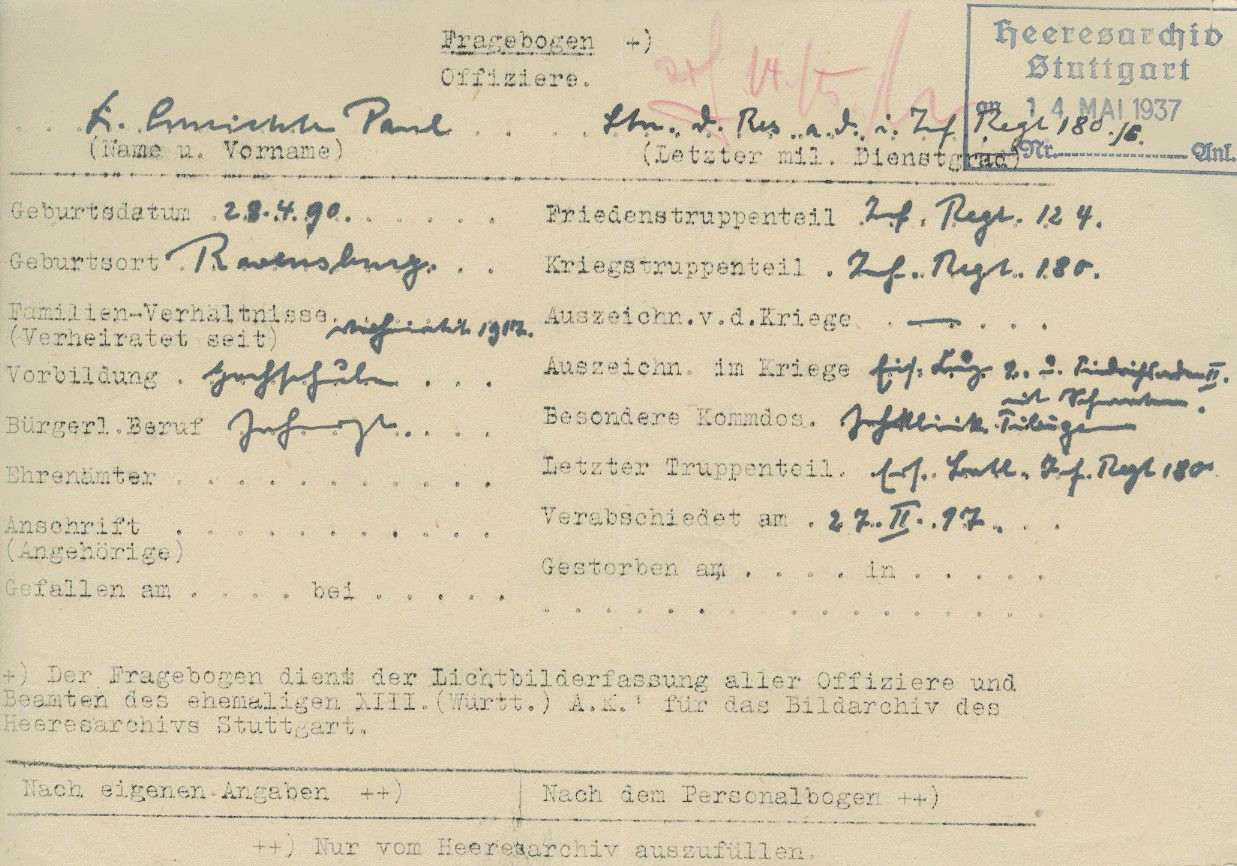 Schlichte, Paul, Dr., Bild 2