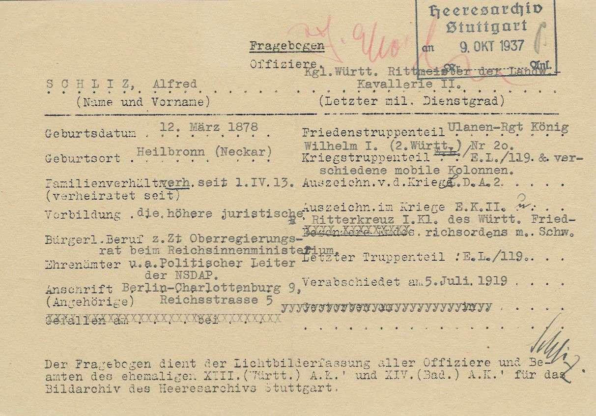 Schliz, Alfred, Dr., Bild 3