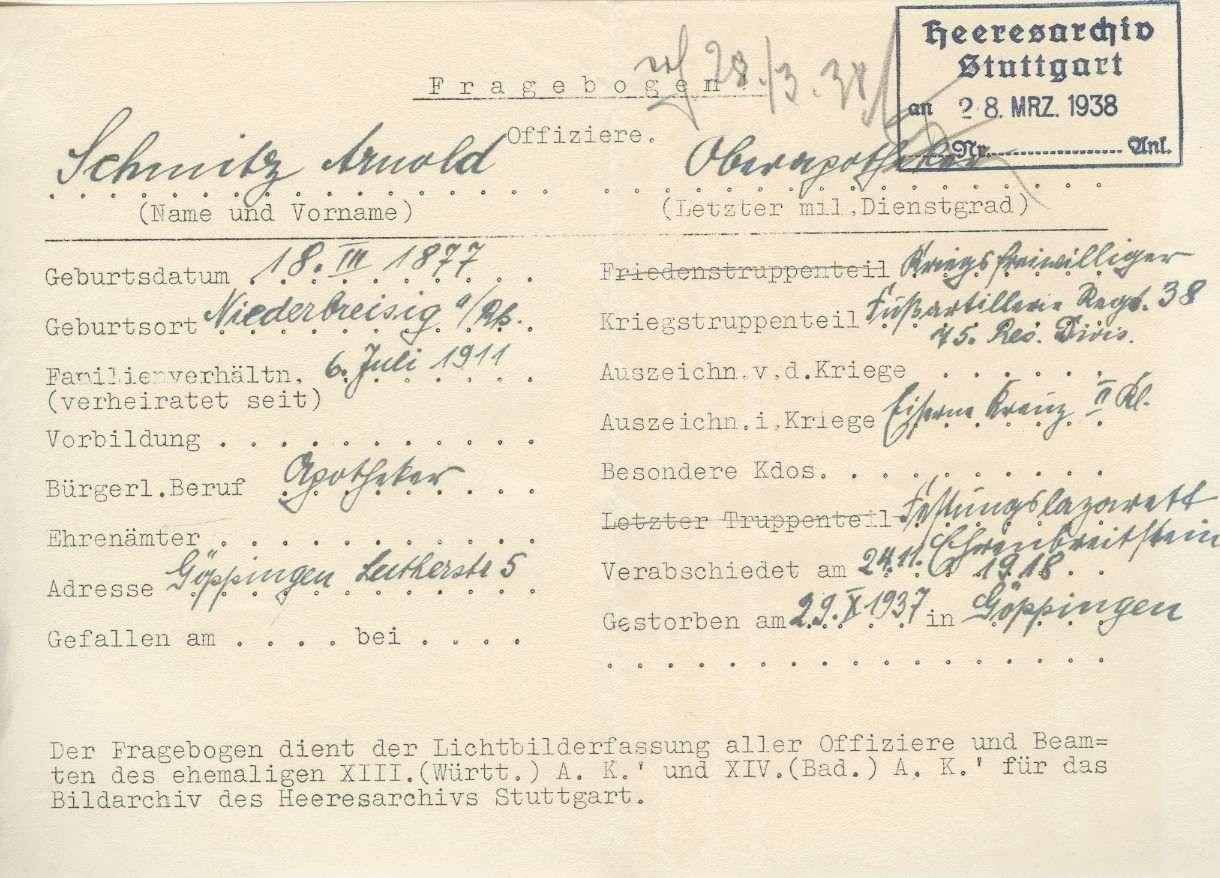 Schmitz, Arnold, Bild 2