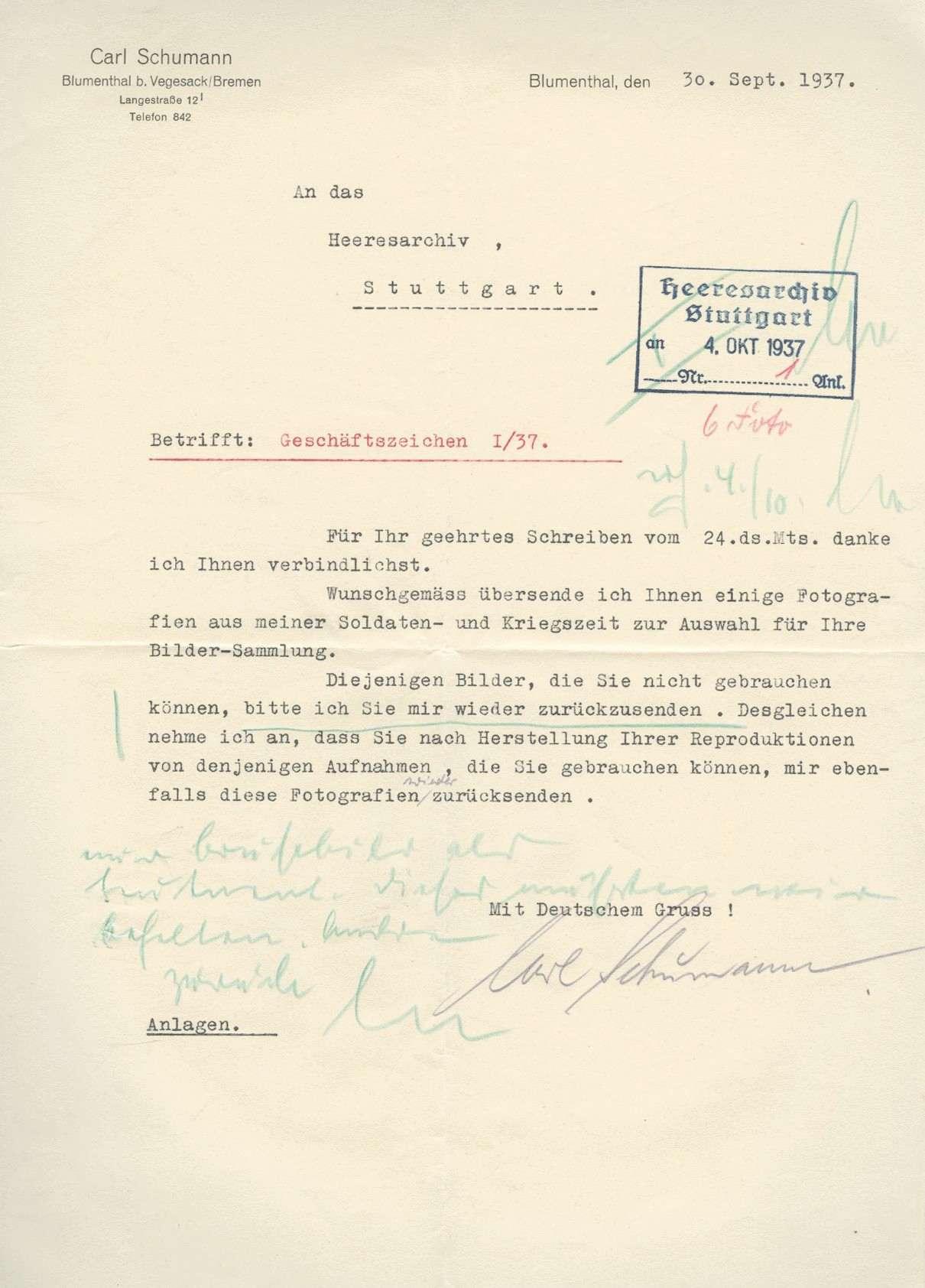 Schumann, Karl, Bild 2