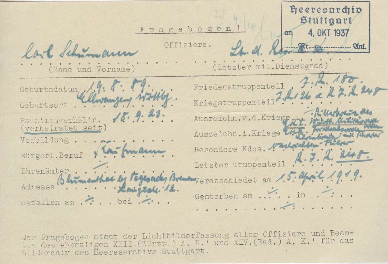 Schumann, Karl, Bild 3