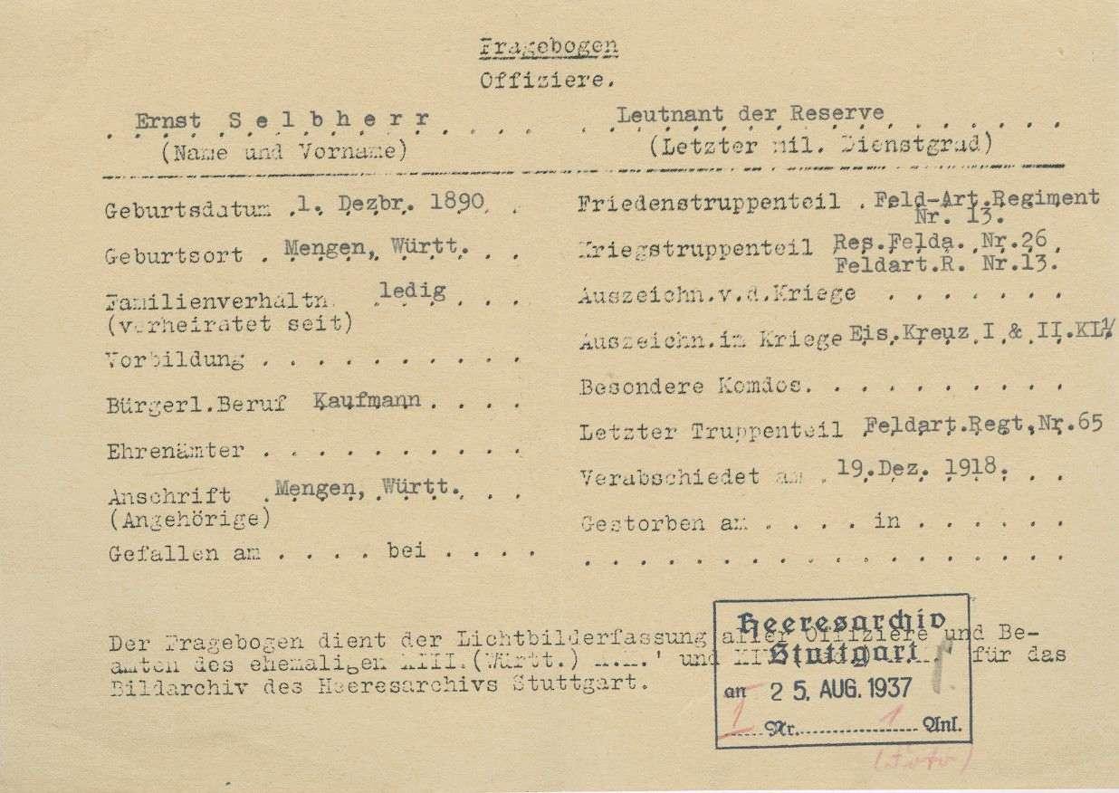 Selbherr, Ernst, Bild 2