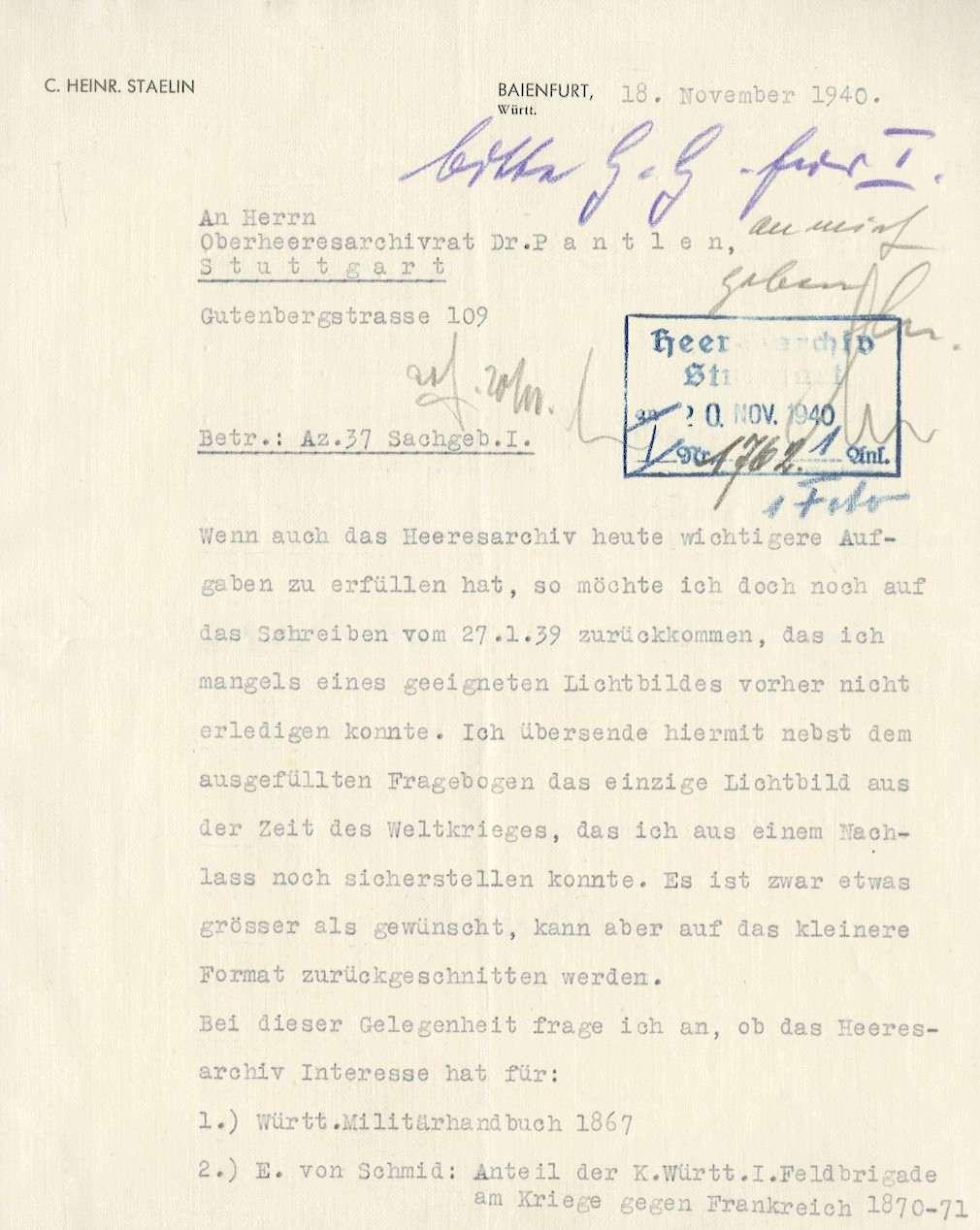Stählin, Heinrich, Bild 3