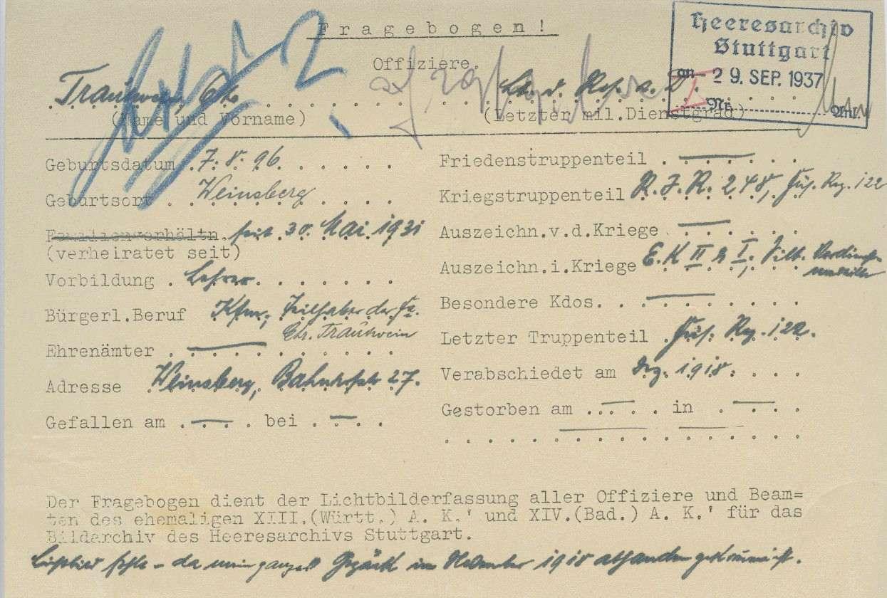 Trautwein, Otto, Bild 2