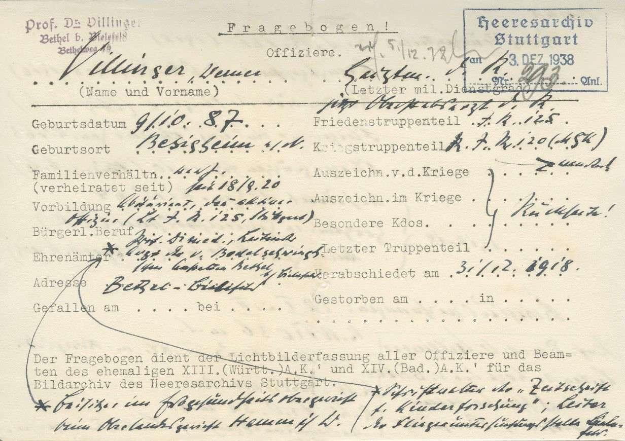 Villinger, Werner, Bild 3