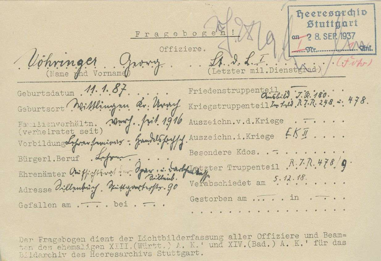 Vöhringer. Georg, Bild 2